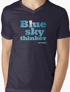 Blue Sky Thinker - dark colours Mens V-Neck T-Shirt