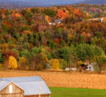 Rose Valley Farm & Long October Shadows Sticker