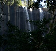 Vernal falls in late summer shot #2 by photoclimber