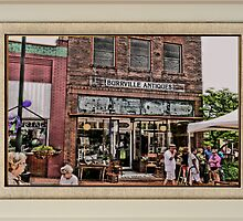 """Burrville Antiques"" ... with a matted and framed presentation, for prints and products by © Bob Hall"