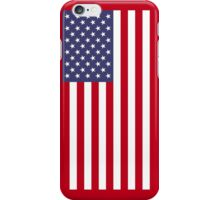 US Flag - Red iPhone Case/Skin