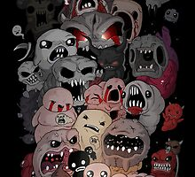 Binding of isaac fan art by Torquem