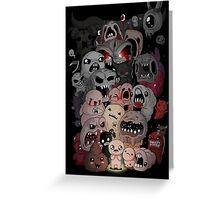 Binding of isaac fan art Greeting Card
