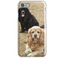 Bogie and Sophie iPhone Case/Skin