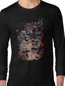 Binding of isaac fan art Long Sleeve T-Shirt