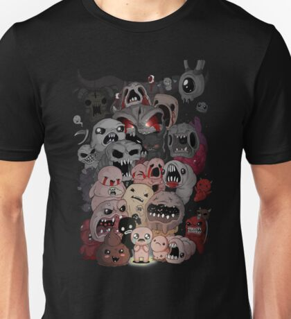 Binding of isaac fan art Unisex T-Shirt