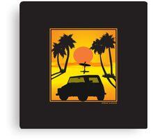 VW 181 Thing Kuebelwagen Trekker Acapulco Sunset Canvas Print