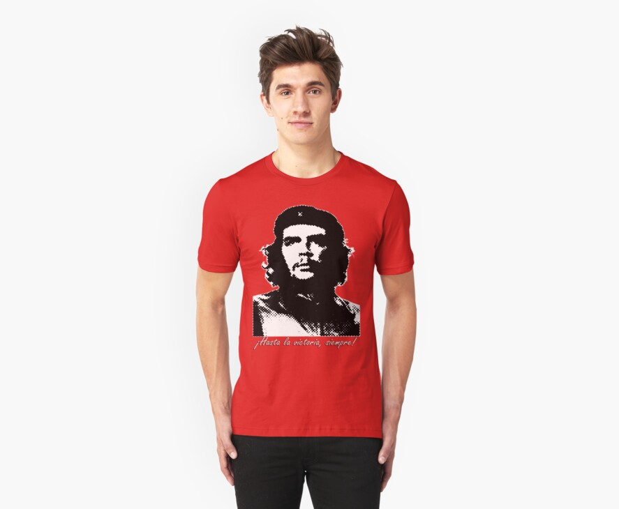 Che Guevara Pop Art Tshirt by Vagelis Georgariou