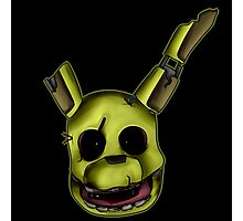 Springtrap (Blood) Photographic Print