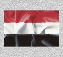 Yemen Flag Kids Tee