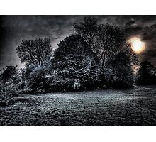 Dark Snow Photographic Print
