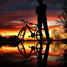 A Boy and His Bike by Evan Ludes