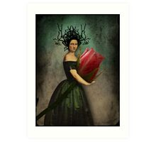 Mona's rose Art Print
