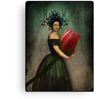 Mona's rose Canvas Print