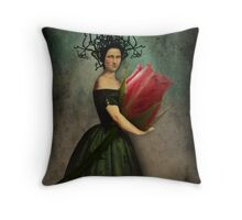 Mona's rose Throw Pillow