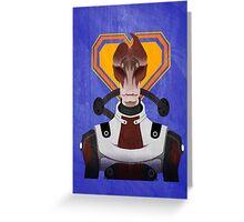 N7 Keep - Mordin Greeting Card