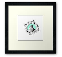 Do Not Pity the Dead, Harry in Mint Framed Print