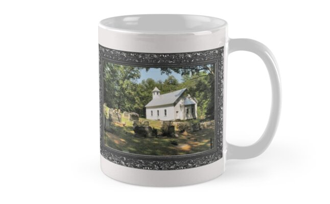 Cades Cove Missionary Baptist Church ... with a canvas and framed presentation for prints and products by © Bob Hall