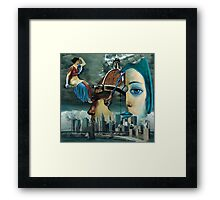Saline Solution ( Collaboration with Andy Nawroski ) Framed Print