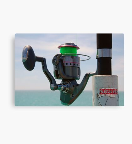 Perfect Day for the Rod and the Reel Canvas Print