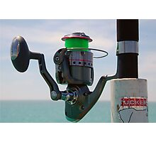 Perfect Day for the Rod and the Reel Photographic Print