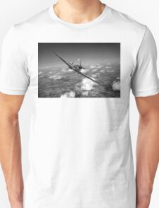 Battle of Britain Spitfire black and white version T-Shirt