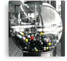 Bubble Gum Machine Metal Print
