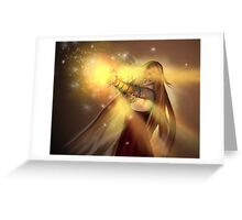 Fight the Darkness with Light Greeting Card