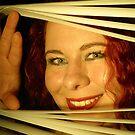 Rusana at the window I by ARTistCyberello