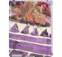 Acrylic Purple Triangle iPad Case/Skin