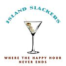 Island Slackers Happy Hour by Frank Schuster