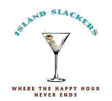 Island Slackers Happy Hour Photographic Print