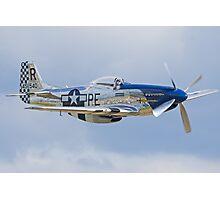 "Mustang P-51D ""Excalibur"" Photographic Print"