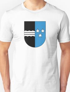 Coat of Arms of Aargau Canton T-Shirt
