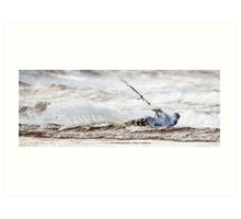 Kite Surfer Art Print
