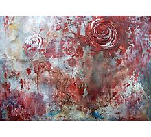 When Roses Bleed Photographic Print