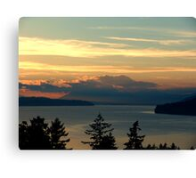 Cloake Hill Sunset Canvas Print