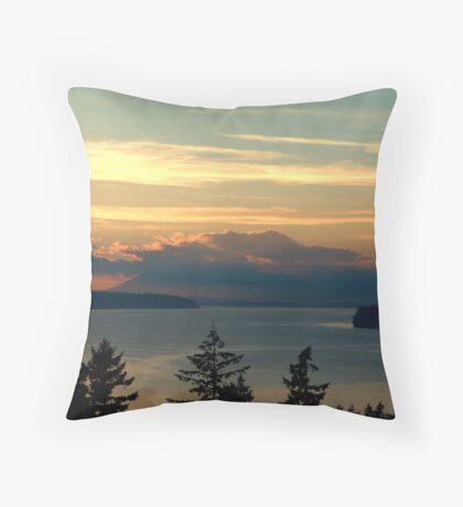 Cloake Hill Sunset Throw Pillow