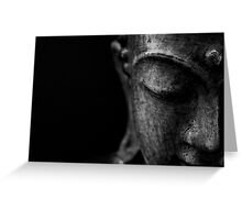Buddha's Serenity Greeting Card