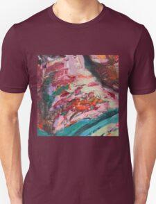 Acrylic Lime and Orange Unisex T-Shirt