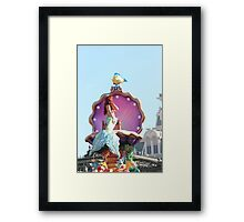 dont be a guppy  Framed Print