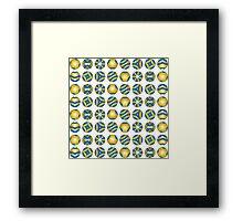 Ball Games Framed Print