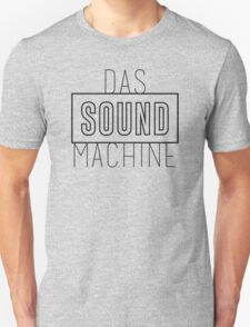 DAS SOUND MACHINE - BLACK T-Shirt