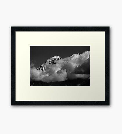 Eiger Framed Print