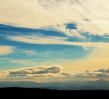 Skyscape I, Mt Wellington, Tasmania by Roger Barnes