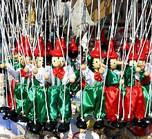 Pinnochio Marionettes by phil decocco