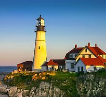 Portland Head Lighthouse, Maine, USA by Daniel H Chui
