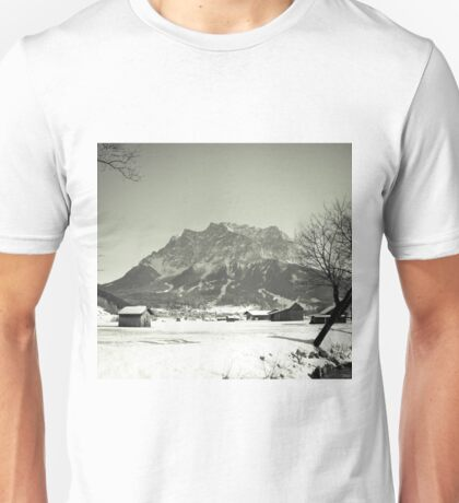 Leading to the Zugspitze Unisex T-Shirt