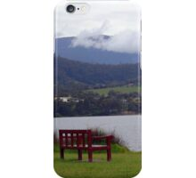 Take A Seat - Dru Point, Margate, Tasmania iPhone Case/Skin
