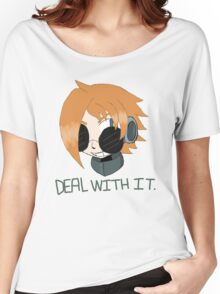 "Robaschi ""Deal With It"" Women's Relaxed Fit T-Shirt"